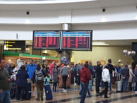 Arrival at OR Tambo International Airport