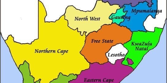 South Africa Provinces and their attractions