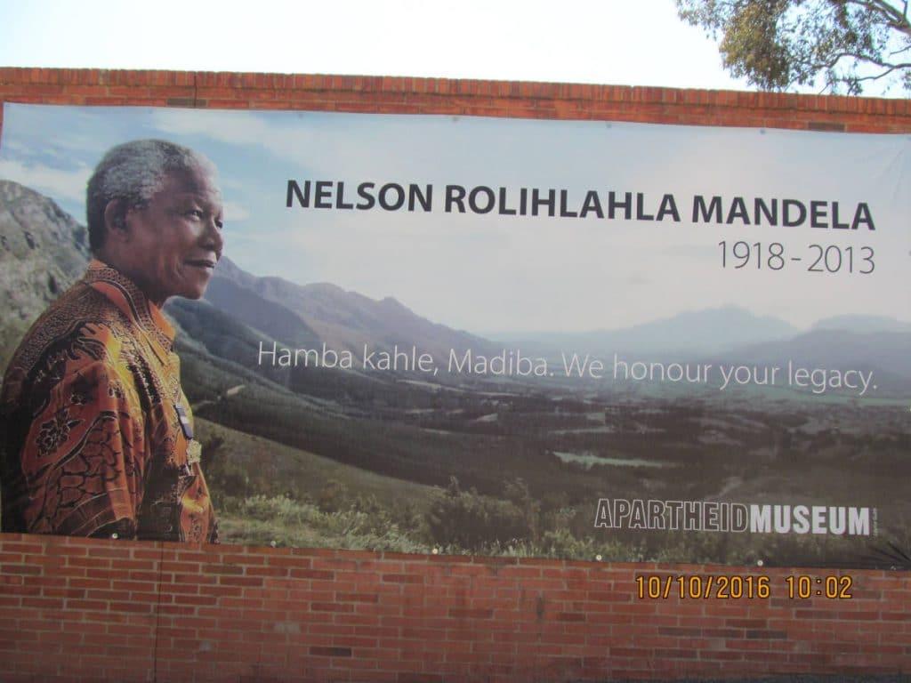 Apartheid Museum Mandela