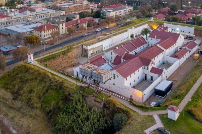 Private Constitutional Hill & Apartheid Museum Half Day Tour