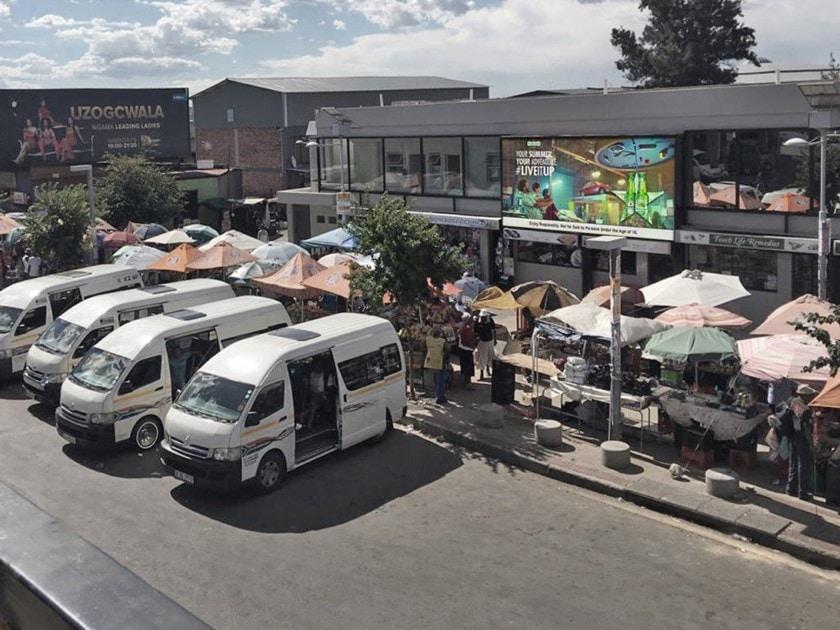 Soweto The Bara Taxi Rank
